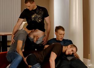Mason Wyler, Jake Steel, Brandon Bangs & David Stone