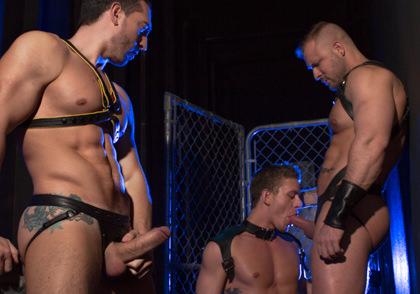 Raging Stallion: Huntin For Ass - Jimmy Durano, Alexander Gustavo & Austin Wolf - The URGE