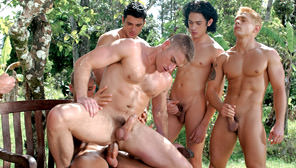 Drenched, Part 1:  Soaking It In : Renato Leon, Jack Ryan, Chet Roberts, Brad Patton, Tommy Brandt, Filippo Romano, Lane Fuller