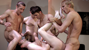 Big Dick Club : Jason Crew, Barrett Long, Trevor Knight, Matthew Mayfair, Duncan Princo