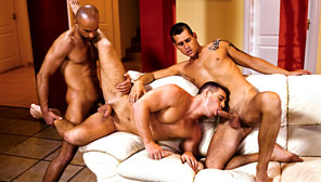 Hungarian Hunks : Andrew Moretti, Rick Bauer, Leslie Blue