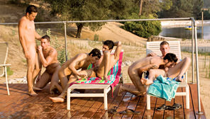 Road Trip, Vol. 6 - Temptation Ranch : Ridge Michaels, David West, Nick Cross, Jared, Lee Stephens, Wade Wilder