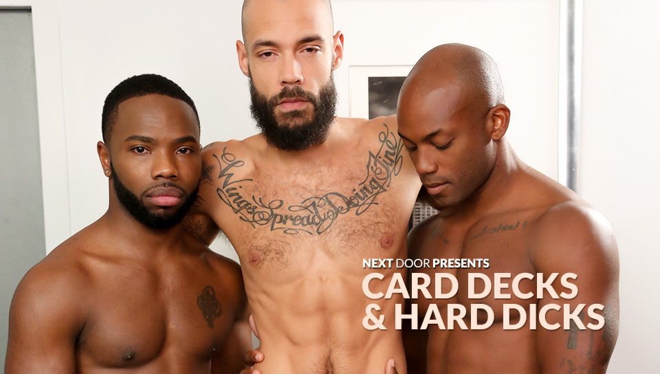 Card Decks & Hard Dicks starring Bam Bam, Osiris Blade, Dylan Henri