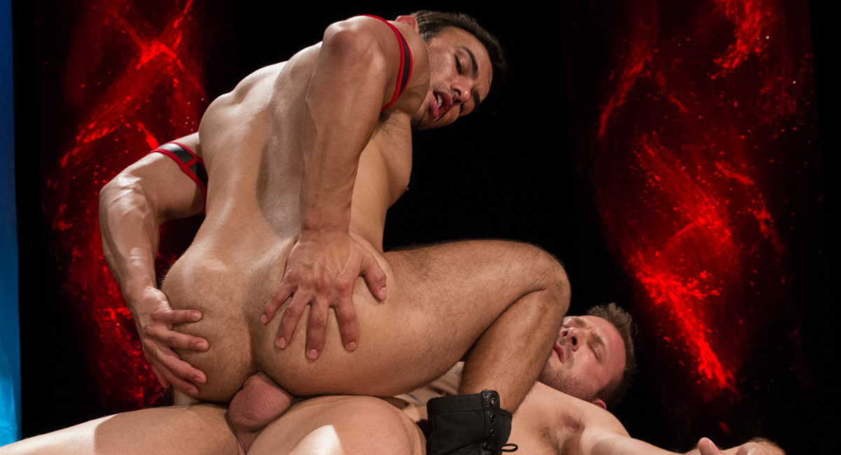 Raging Stallion: Dorian Ferro & Austin Wolf - Fire and Ice