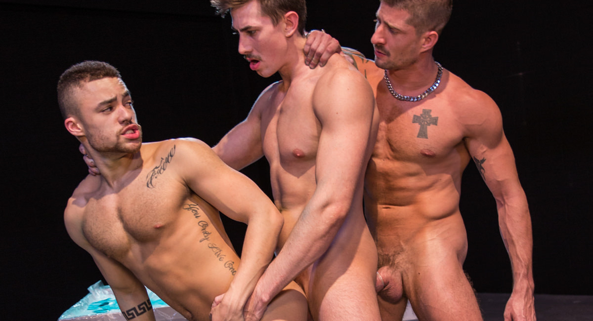 Raging Stallion: Jack Hunter, Beaux Banks & Sean Maygers - Vice