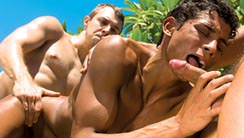 Shane's Pool Party : Devon Hunter, Donny Wright, Billy Byron