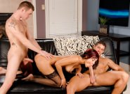 Hard Knox Threesome