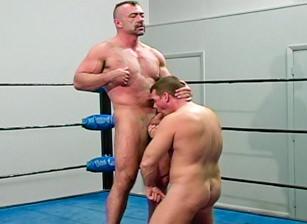 Wrestling Hunks #02, Scene #02