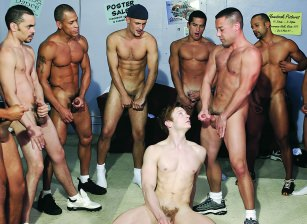 Ten Latin Studs Gangbang Josh Weston