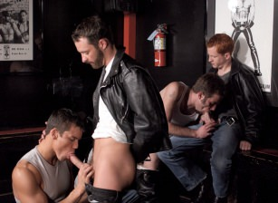 Colby Taylor, Tony Bishop, Justin Gemineye, Blu Kennedy, Jason Spear, Roman Heart, Troy Apollo
