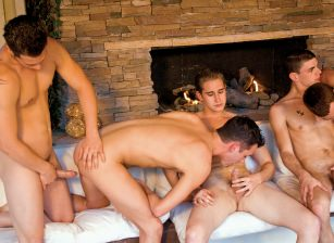 Scottie Brooks, Aden Stone, Jeremy Lange, Danny Parker, Mason Ross, Kevin Cavallie