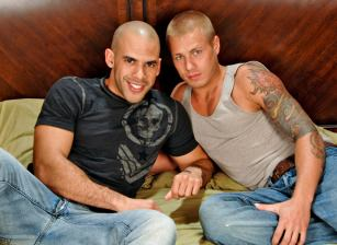 On The Set - Austin Wilde & Brody Wilder