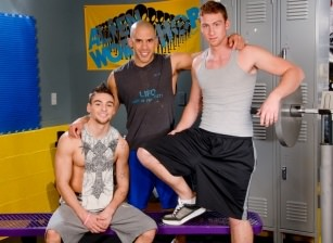 On The Set - Austin Wilde, Johnny Torque & Connor Maguire