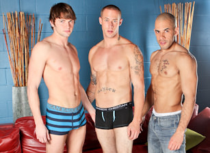 On The Set  - Austin Wilde, Angelo Romani & Campbell Stevens
