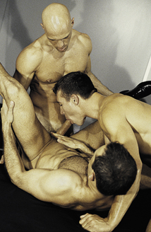 Sebastian Gronoff, Marcus Iron, Addison Scott Picture