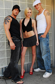 Cody, Christian Wilde & Madison Mason Picture