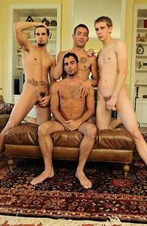 Patrick Kennedy, Phenix Saint, DJ & Justin Ryder Picture
