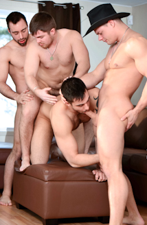 1st Anniversary Gang Bang: Felix Takes The Hit! Picture