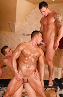 Antonio Russo, Freddy Costa & Max Summers Picture